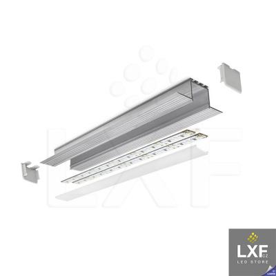 vestavné LED svítidlo KLUS KOZEL neanodizovaný