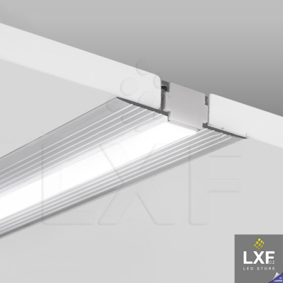 lišta na LED pásek KLUS KOZMA neanodizovaný