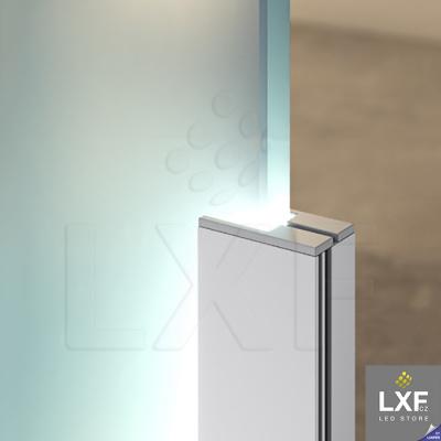 profily pro LED pásky KLUS KRAV-810 anodizovaný
