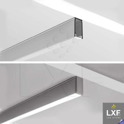 profily pro LED pásky KLUS LINO anodizovaný