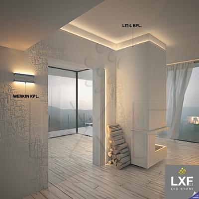 led profil KLUS LIT-L anodizovaný