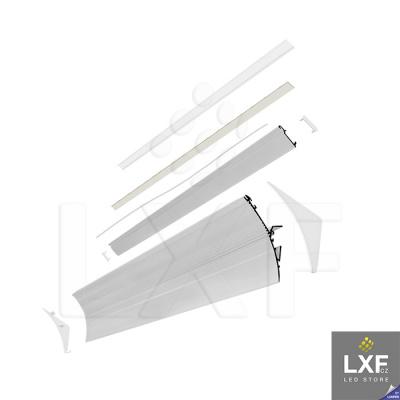 lišta pro LED pásek KLUS LIT-L anodizovaný