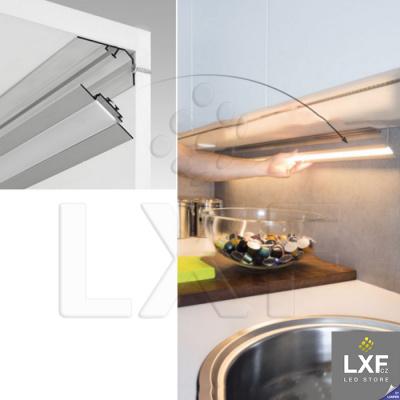 led profil rohový KLUS LOC-30 anodizovaný