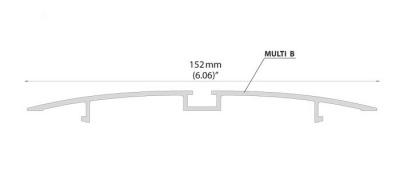 led lišta KLUS MULTI-B anodizovaný