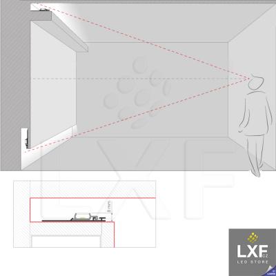 podhledove led svetlo KLUS NISA-PLA neanodizovaný