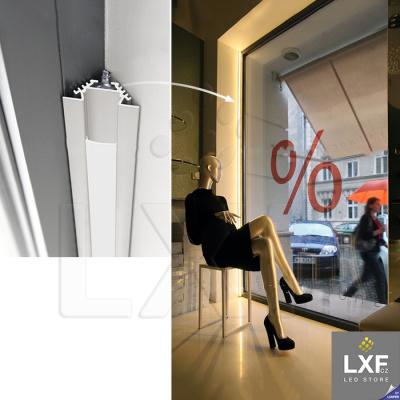 profily pro LED pásky KLUS PAC-ALU anodizovaný
