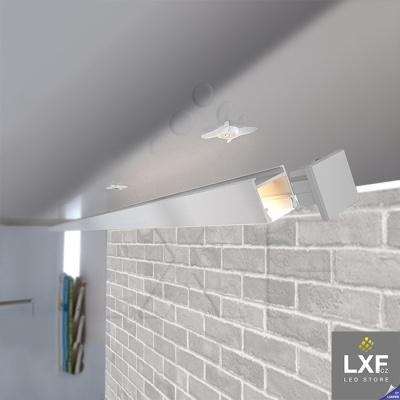 profily pro LED pásky KLUS PDS-H anodizovaný