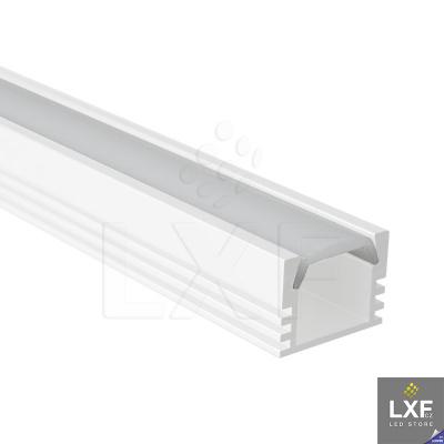 lišta na LED pásek KLUS PDS-ALU bílý