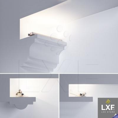 lišta pro LED pásek KLUS POLI anodizovaný