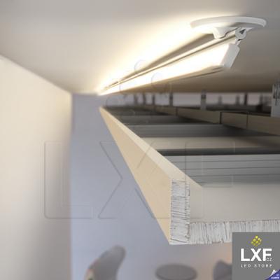 profily pro LED pásky KLUS POLI anodizovaný
