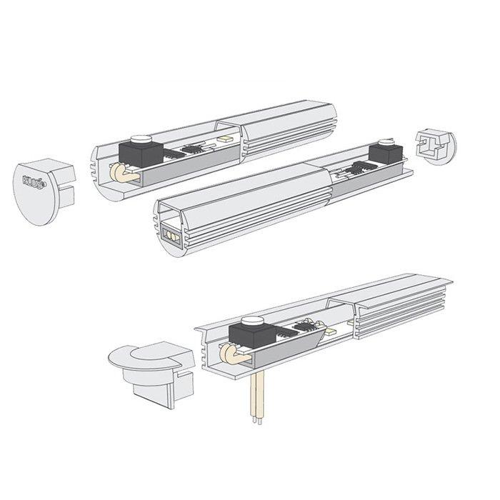 Podložka pod LED pásek KLUS 11x5 - 00036