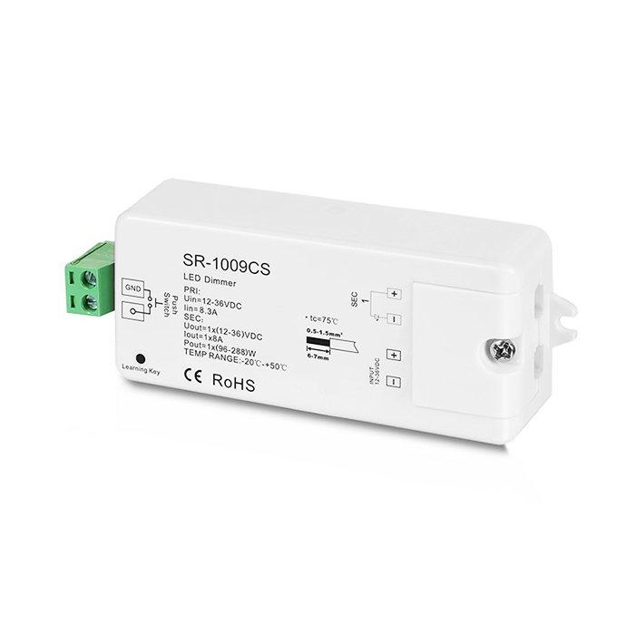 RF LED stmívač Sunricher 1x8A (SR-1009CS)