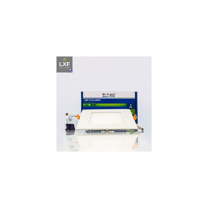 5987 3 v tac led panel vt 607 sq 6w 120mm