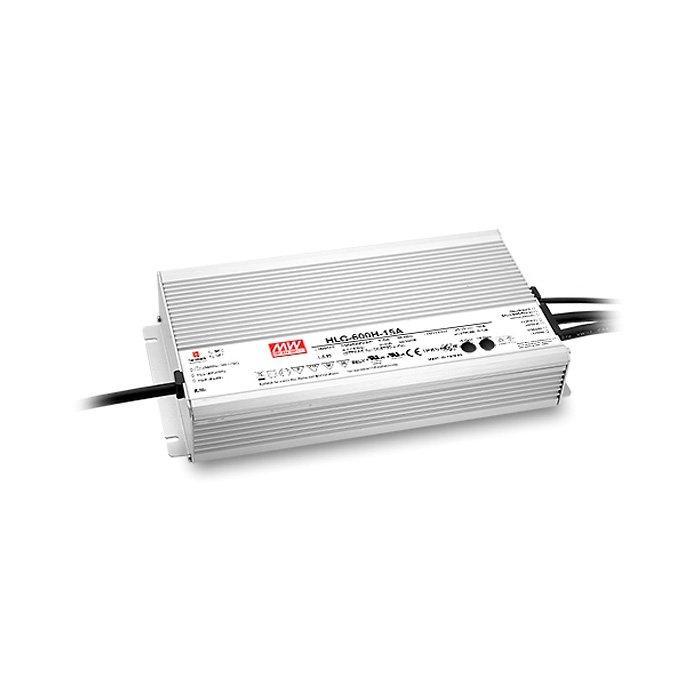 LED zdroj Mean Well HLG 600W 12V - regulace 1-10V (HLG-600H-12B)