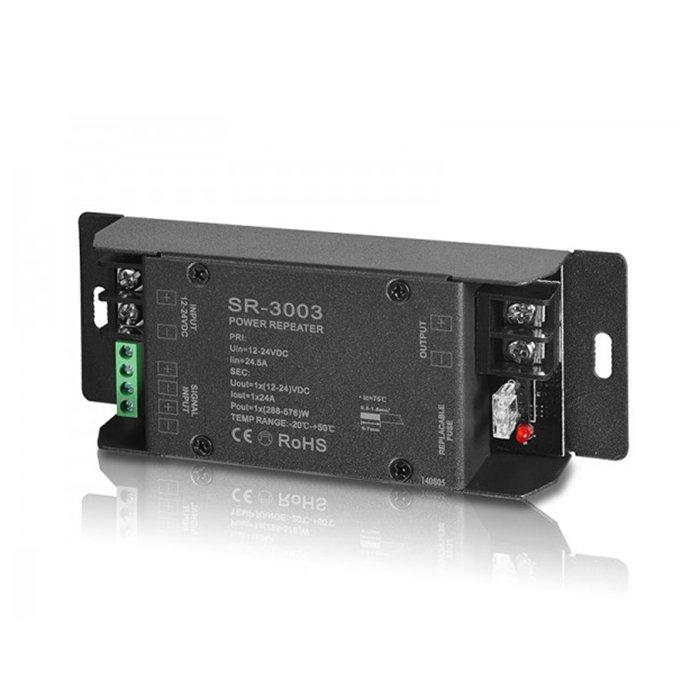 LED zesilovač Sunricher 1-kanálový 1x24A (SR-3003)