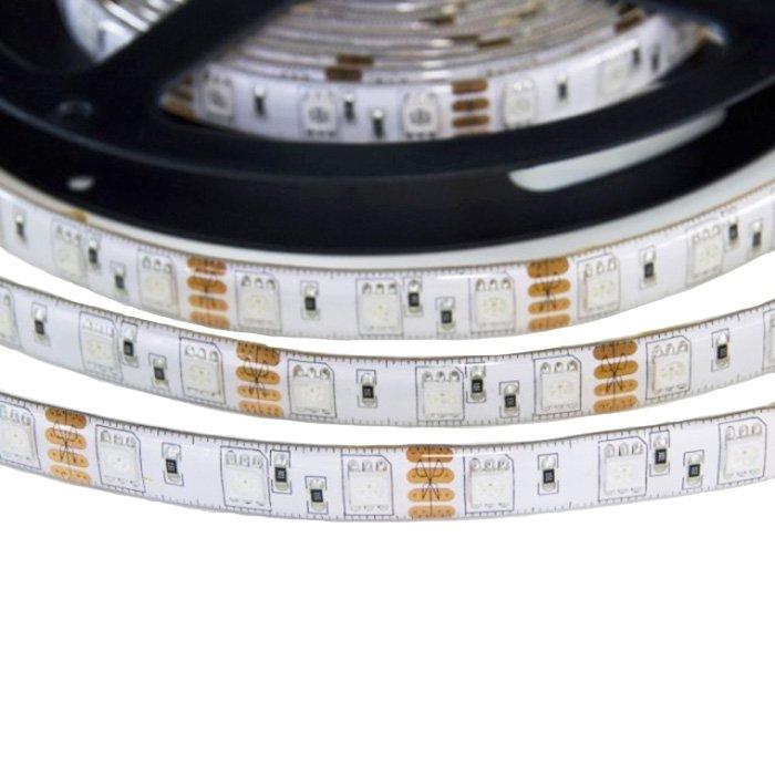 LED pásek LUXIFER 5050 RGB 12V 14,4W - zalitý silikonem IP65