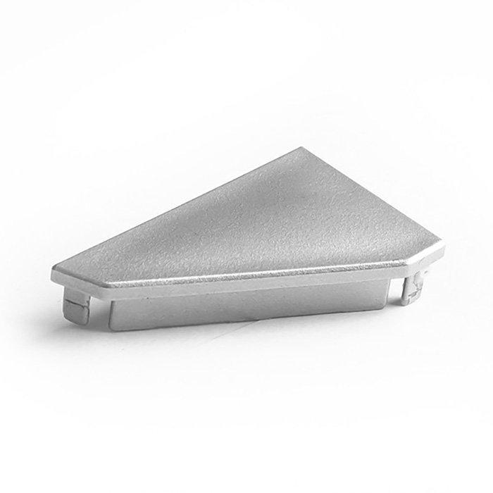 Záslepka KLUŚ KOPRO-30-P-P pravá stříbrná - 24178