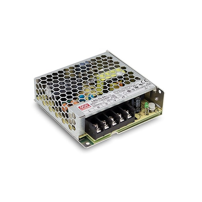 LED zdroj Mean Well LRS 75W 24V (LRS-75-24)