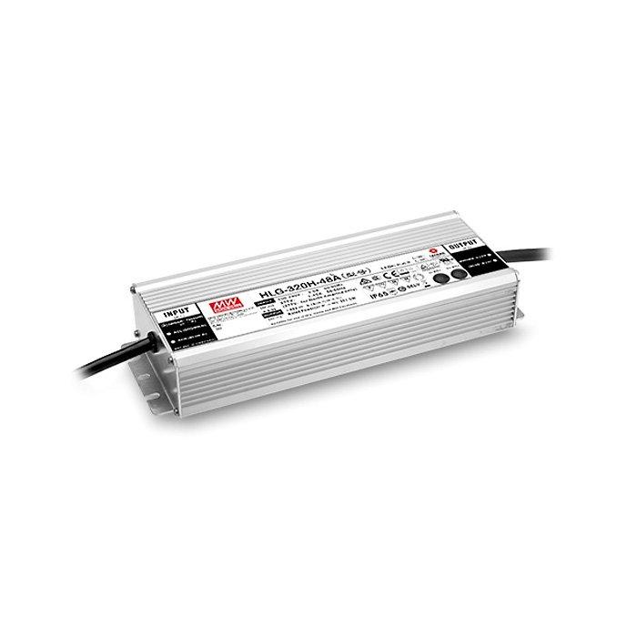 LED zdroj Mean Well HLG 320W - 24V regulace 1-10V (HLG-320H-24B)
