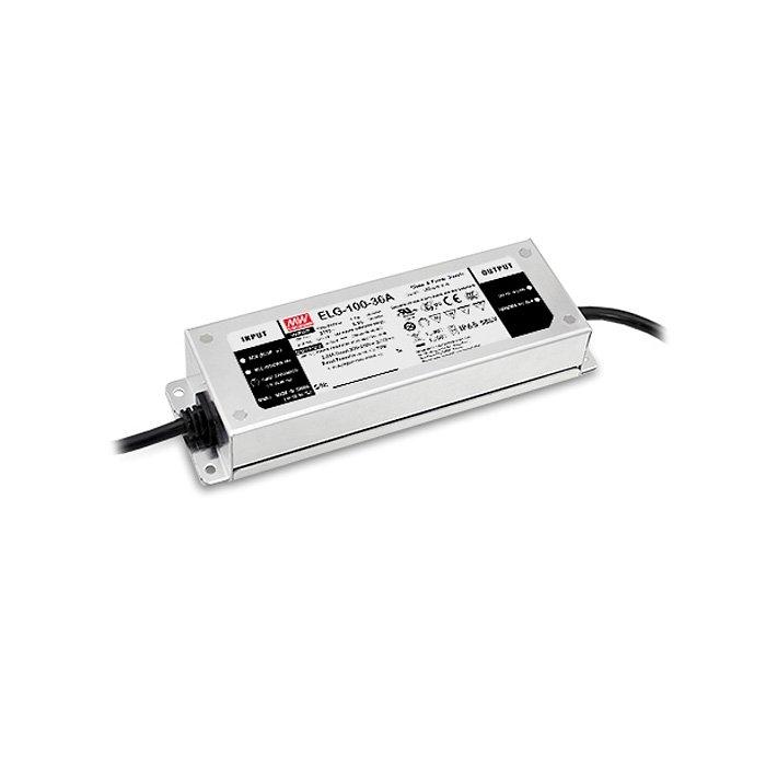 LED zdroj Mean Well ELG 100W 24V-3Y - regulace DALI (ELG-100-24DA-3Y)