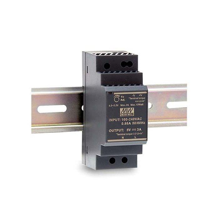 LED zdroj Mean Well HDR 30W 24V - na DIN lištu (HDR-30-24)
