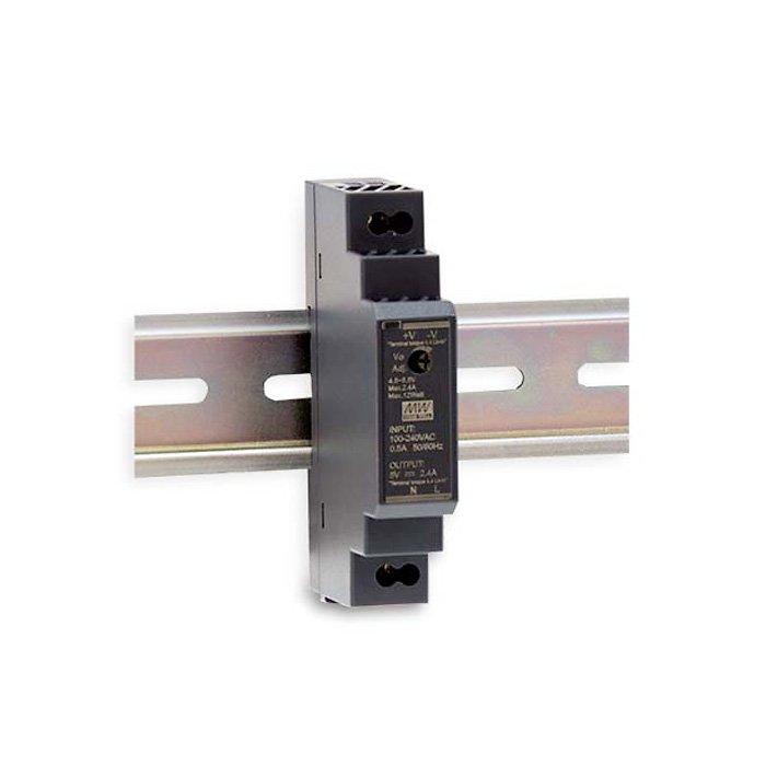 LED zdroj Mean Well HDR 15W 24V - na DIN lištu (HDR-15-24)