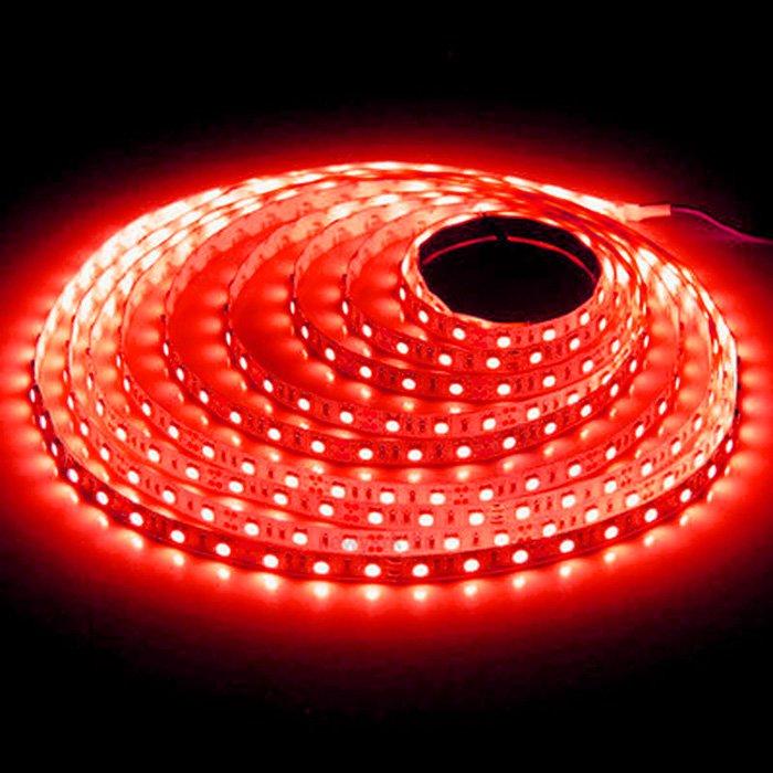 LED pásek SQ3-300 12V 4,8W - červená