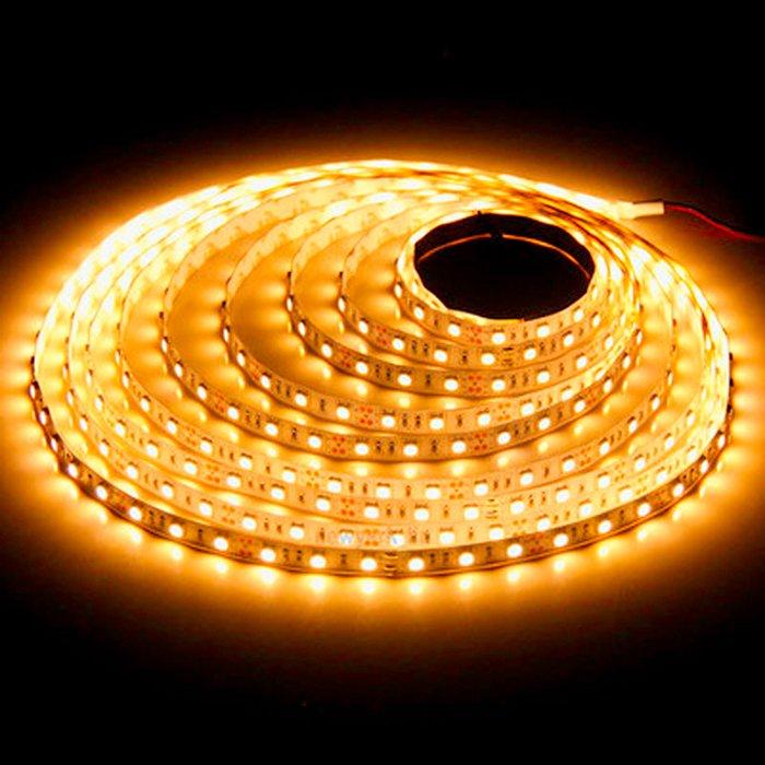 LED pásek SQ3-300 12V 4,8W - oranžová
