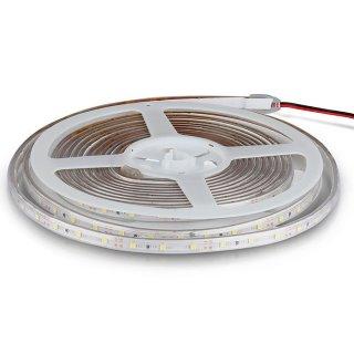 LED pásek V-TAC VT-3528 60 12V 3,6W s flexibilním silikonovým krytem IP65 - modrá