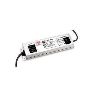 LED zdroj Mean Well ELG 200W 12V-3Y - regulace DALI (ELG-200-12DA-3Y)