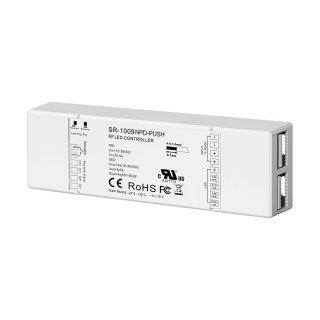 RF univerzální LED přijímač Sunricher 4x5A (SR-1009NPD-PUSH)