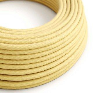 Kabel textilní 3x0,75 světlý žlutý 1