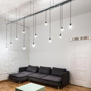 Kabel textilní 3x0,75 světlý mátový 1