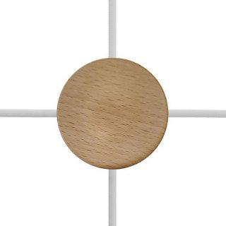 Baldachýn dřevěný 88mm se čtyřmi bočními otvory 1