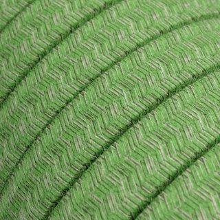 """Bavlněný textilní kabel pro světelný řetěz """"Bronte"""" CX08 2x1,5 - zelený"""