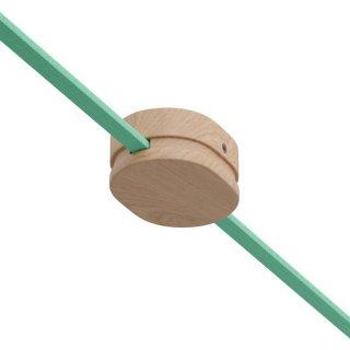 Baldachýn dřevěný 110 x 80mm oválný pro světelný řetěz