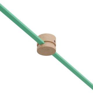 Kabelová průchodka dřevěná pro světelný řetěz průchozí