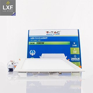 6044 3 v tac led panel vt 2407 sq 24w 300mm