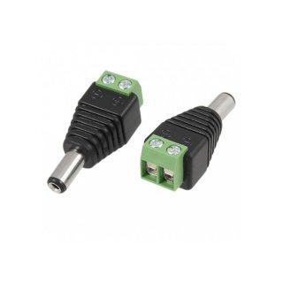 8354 dc konektor se svorkovnici samec
