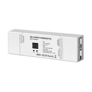 DALI RGBW ovladač Sunricher 4-kanálový 4x5A (SR-2309FA-RGBW)