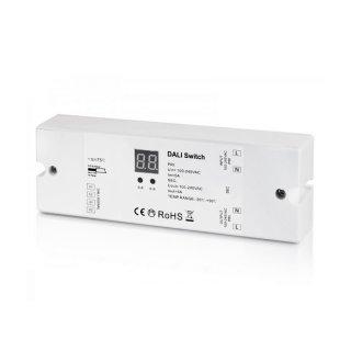 DALI spínač LED osvětlení 230V Sunricher 1-kanálový (SR-2701B)