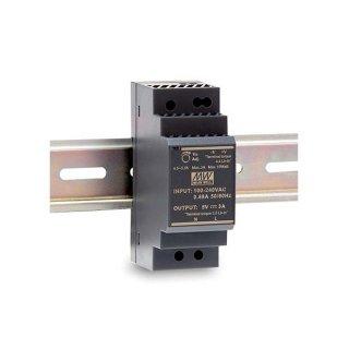 LED zdroj Mean Well HDR 30W 12V - na DIN lištu (HDR-30-12)