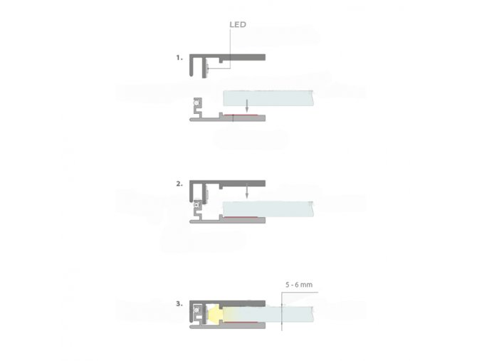5330 3 alu profil klus krav 56 anodizovany 18017