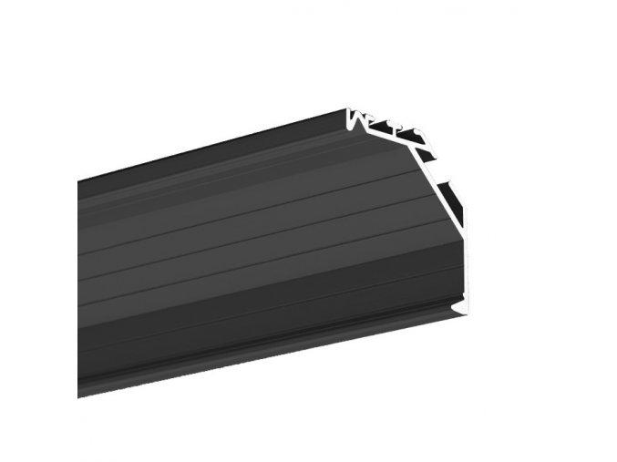 8906 3 alu profil klus kopro cerny b6367