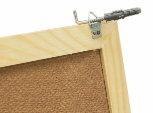 Jak připevnit dřevěnou magnetickou tabuli?