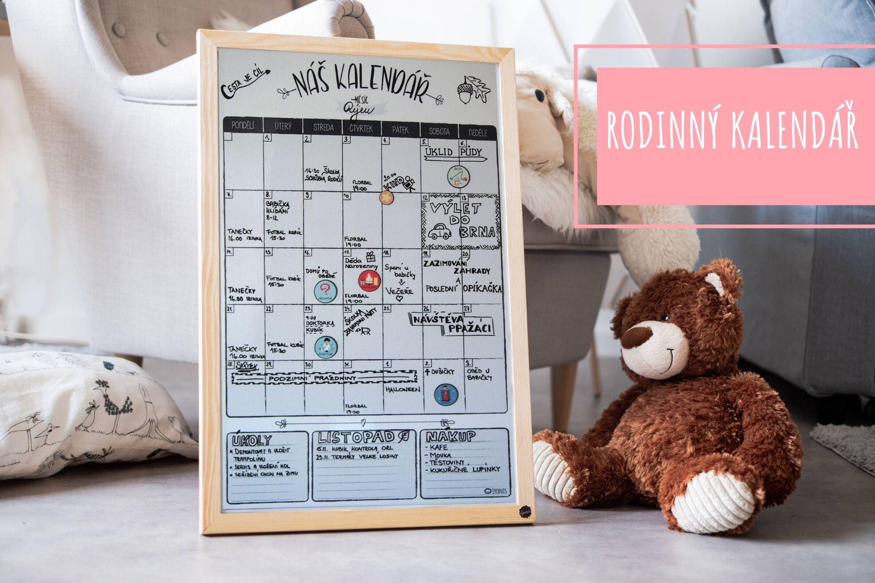 Plánovací rodinný kalendář