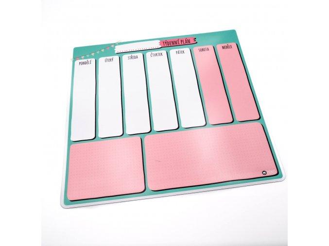 Můj týdenní plán - jsem školák