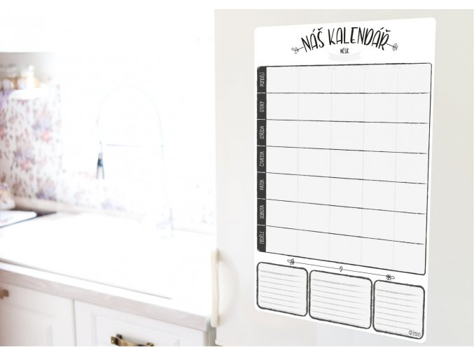 kalendar tydenni kuchyň jpg