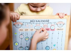 Můj kalendář - chodím do školky