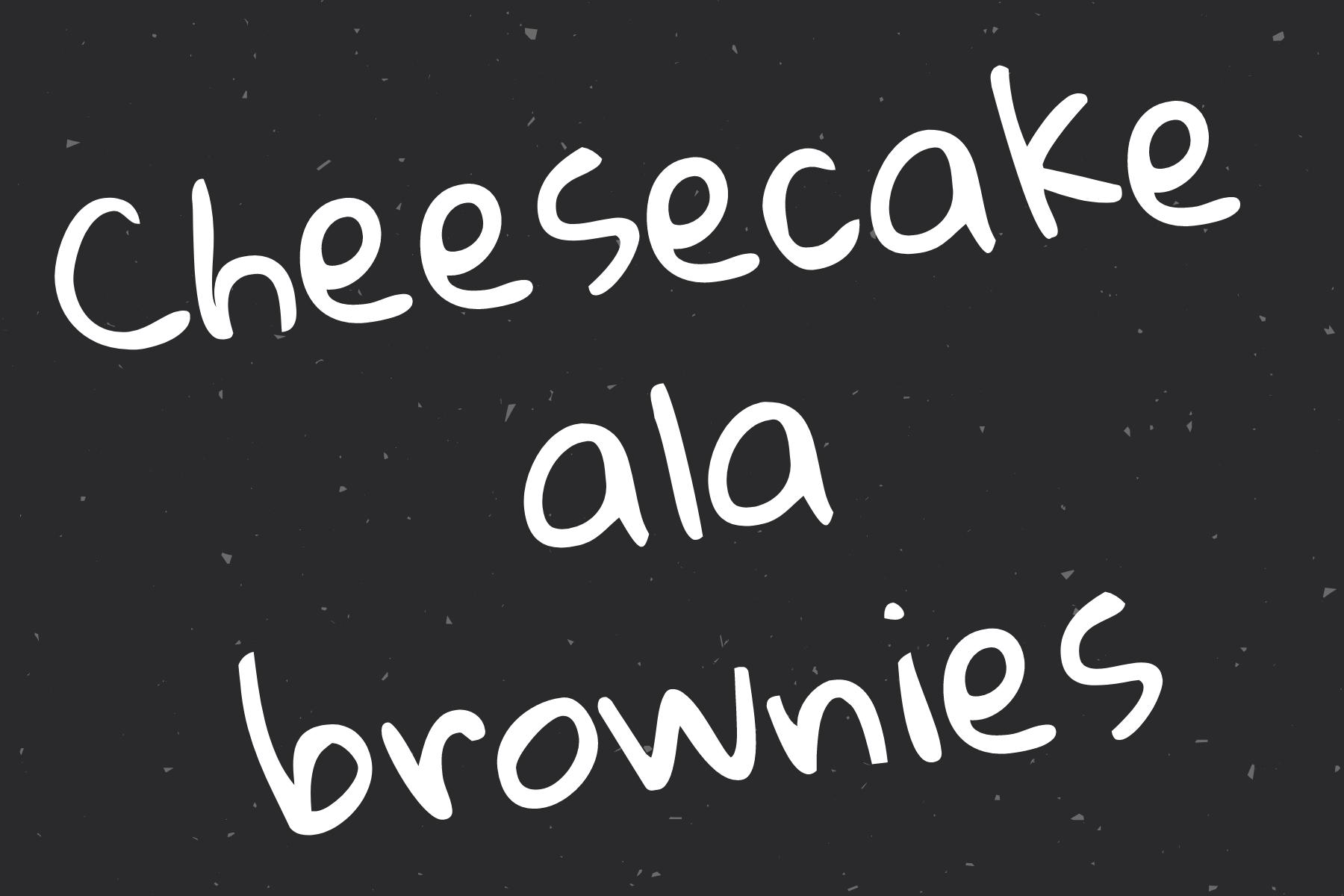 CHEESECAKE ALA BROWNIES